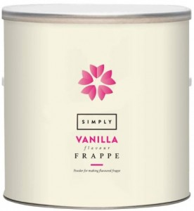 Simply Vanilla Frappe Mix 1.75 KG